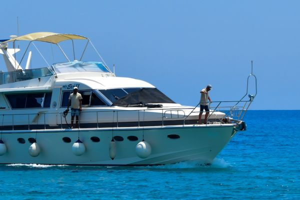 Private Cruises at Chrissi island