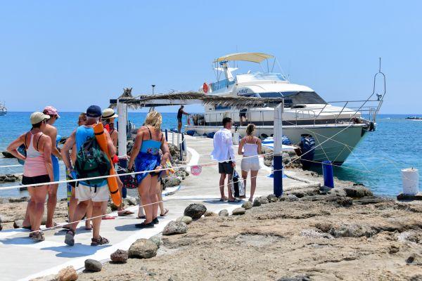 Vip cruises to Chrissi Island and Koufonisi