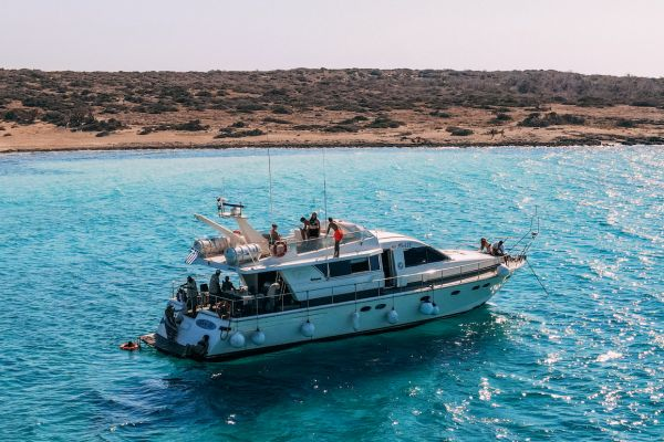Daily boat trips to Chrissi Island - Ierapetra