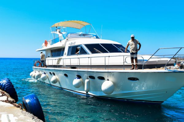 Luxury private cruises to Chrissi Island and Koufonisi